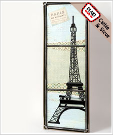 Eiffel Tower Window Art