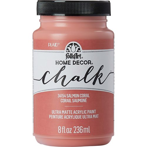 FolkArt ® Home Decor™ Chalk - Salmon Coral, 8 oz.