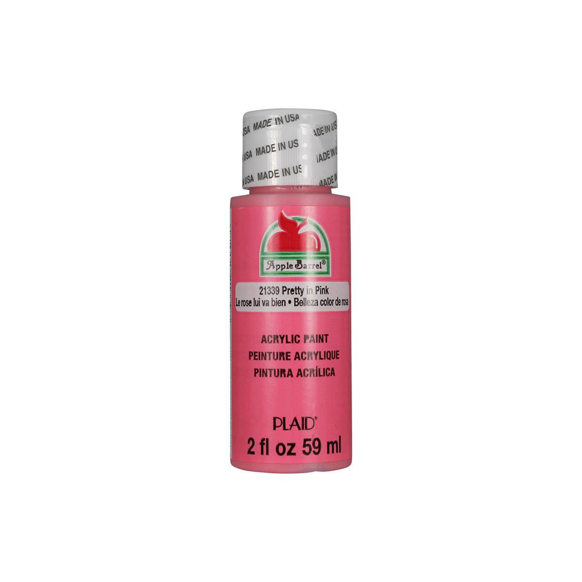 Apple Barrel ® Colors - Pretty in Pink, 2 oz.