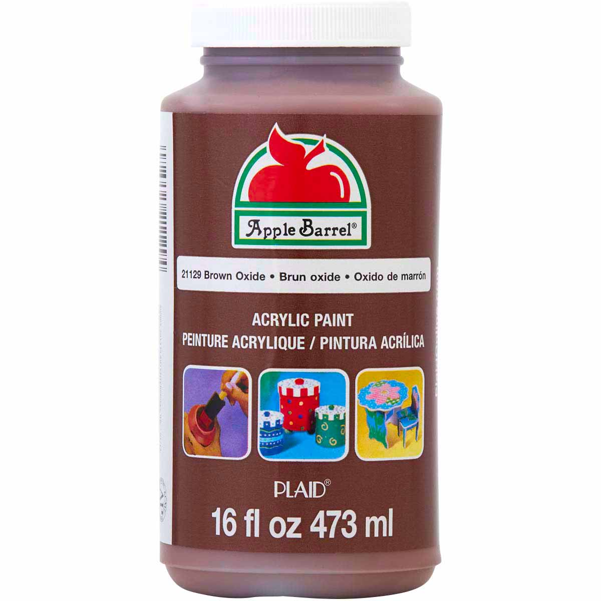 Apple Barrel ® Colors - Brown Oxide, 16 oz. - 21129