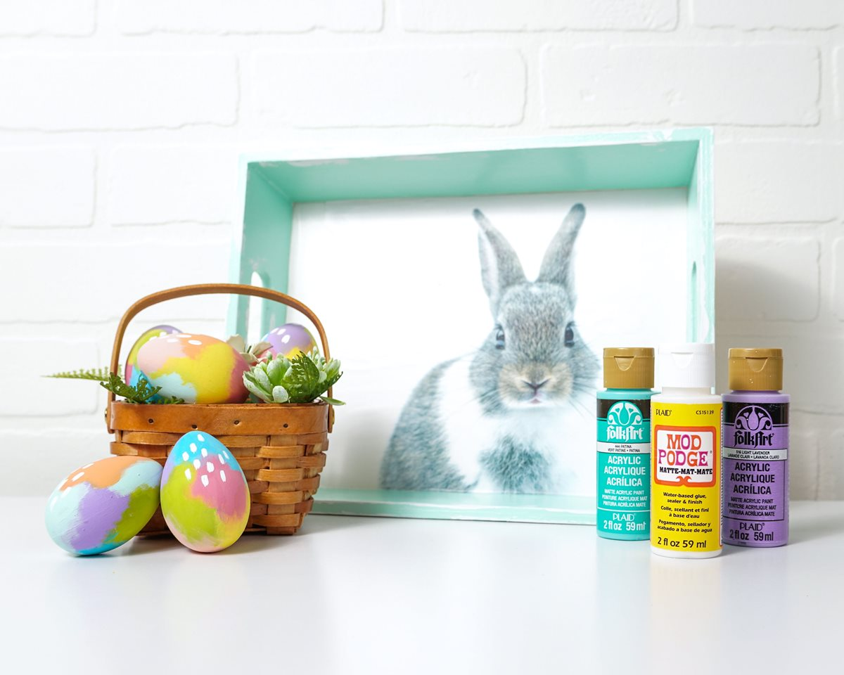 Modern Bunny Tray