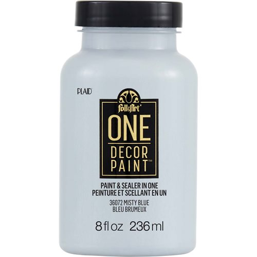 FolkArt ® One Décor Paint™ - Misty Blue, 8 oz. - 36072