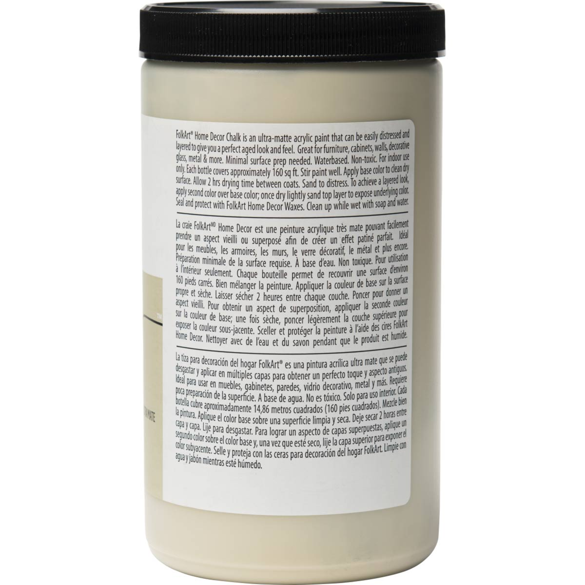 F/A HOME DECOR CHALK - OATMEAL 32 OZ.