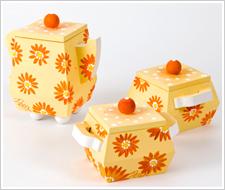 One Stroke Daisy Teapot Set