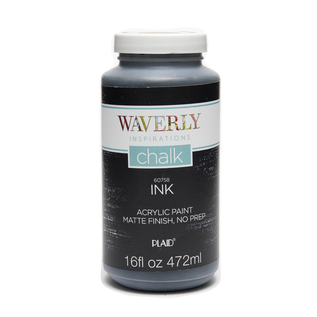 Waverly ® Inspirations Chalk Finish Acrylic Paint - Ink, 16 oz. - 60758E