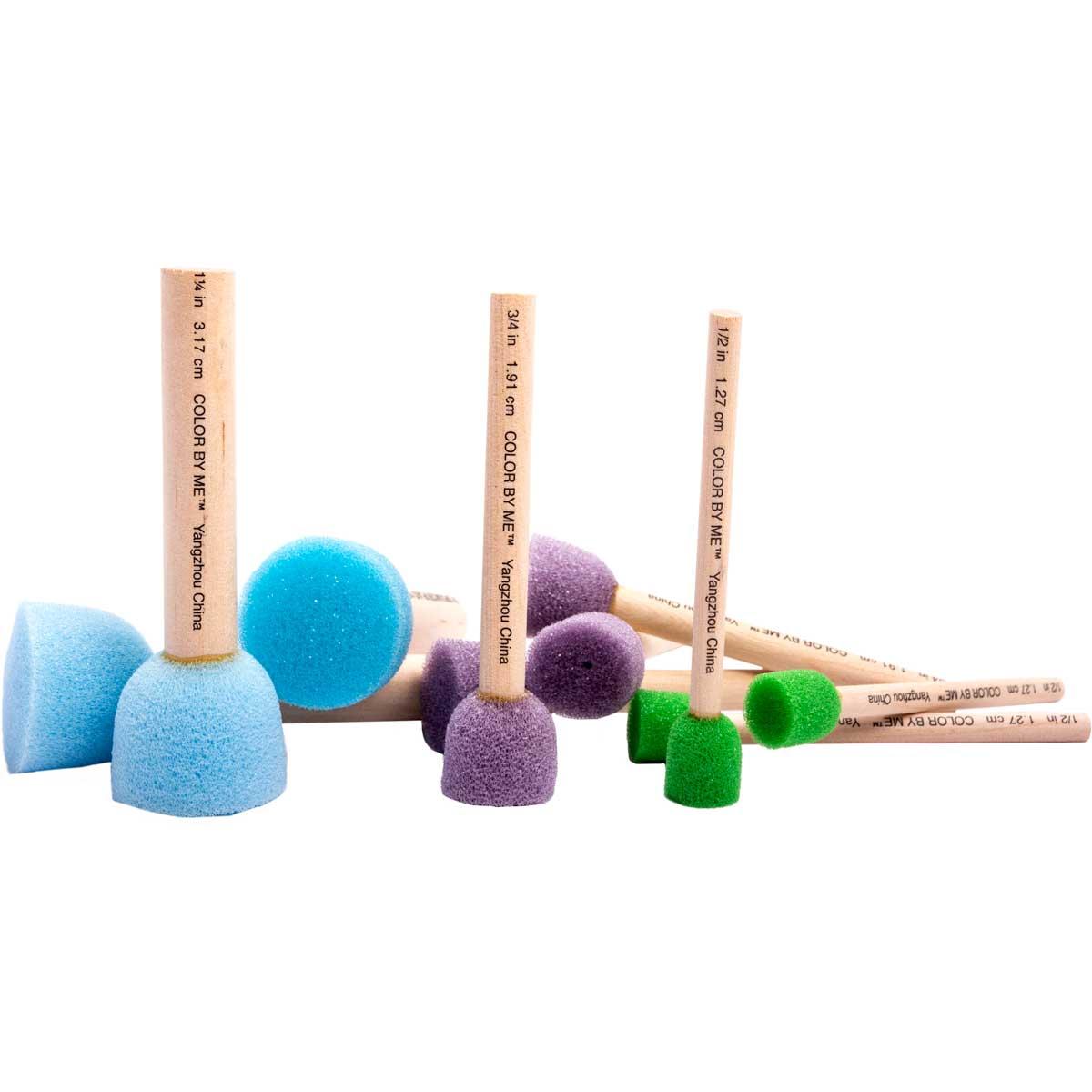 Plaid ® Color By Me™ Brush Sets - Spouncers, 10 pc.