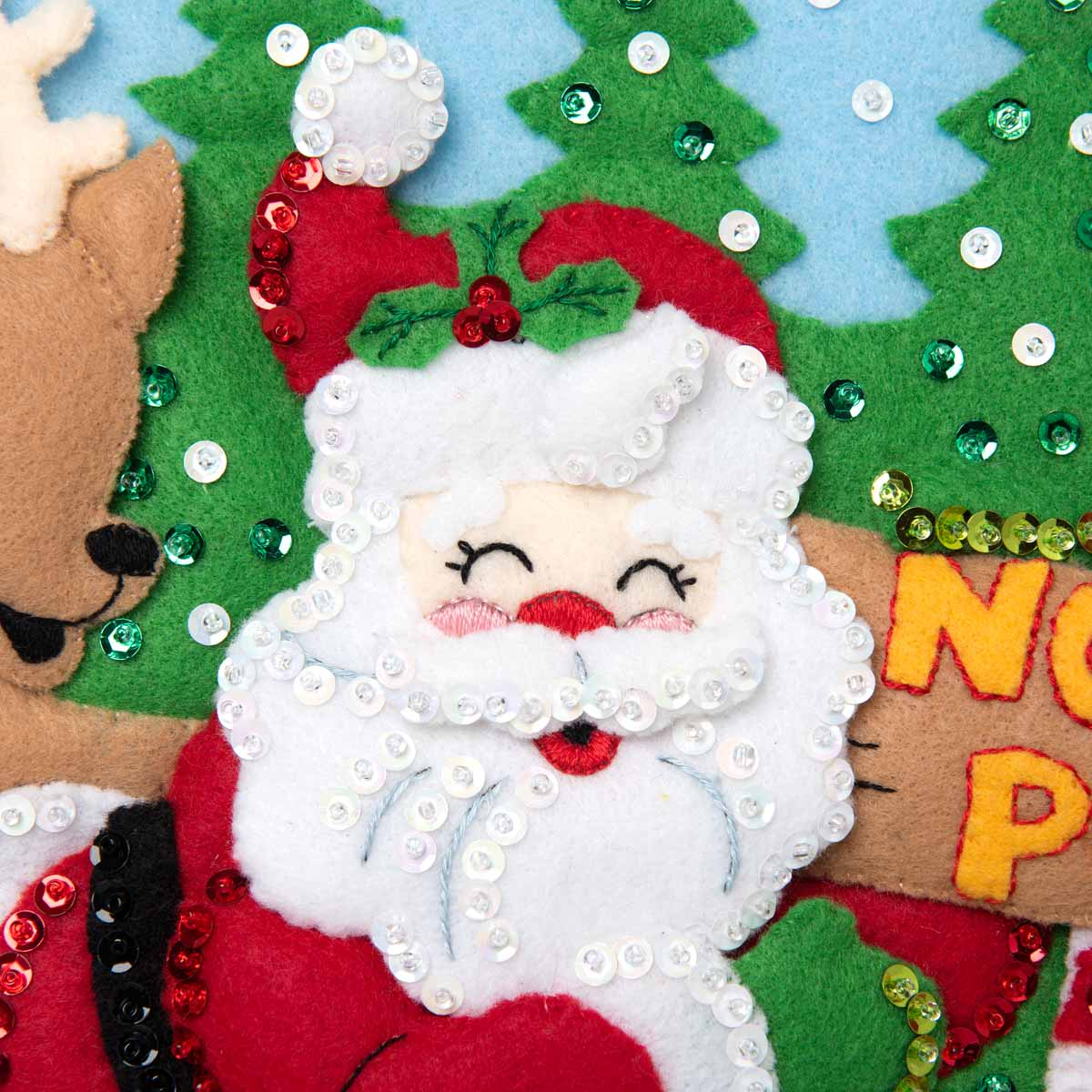 Bucilla ® Seasonal - Felt - Stocking Kits - North Pole Santa - 89228E