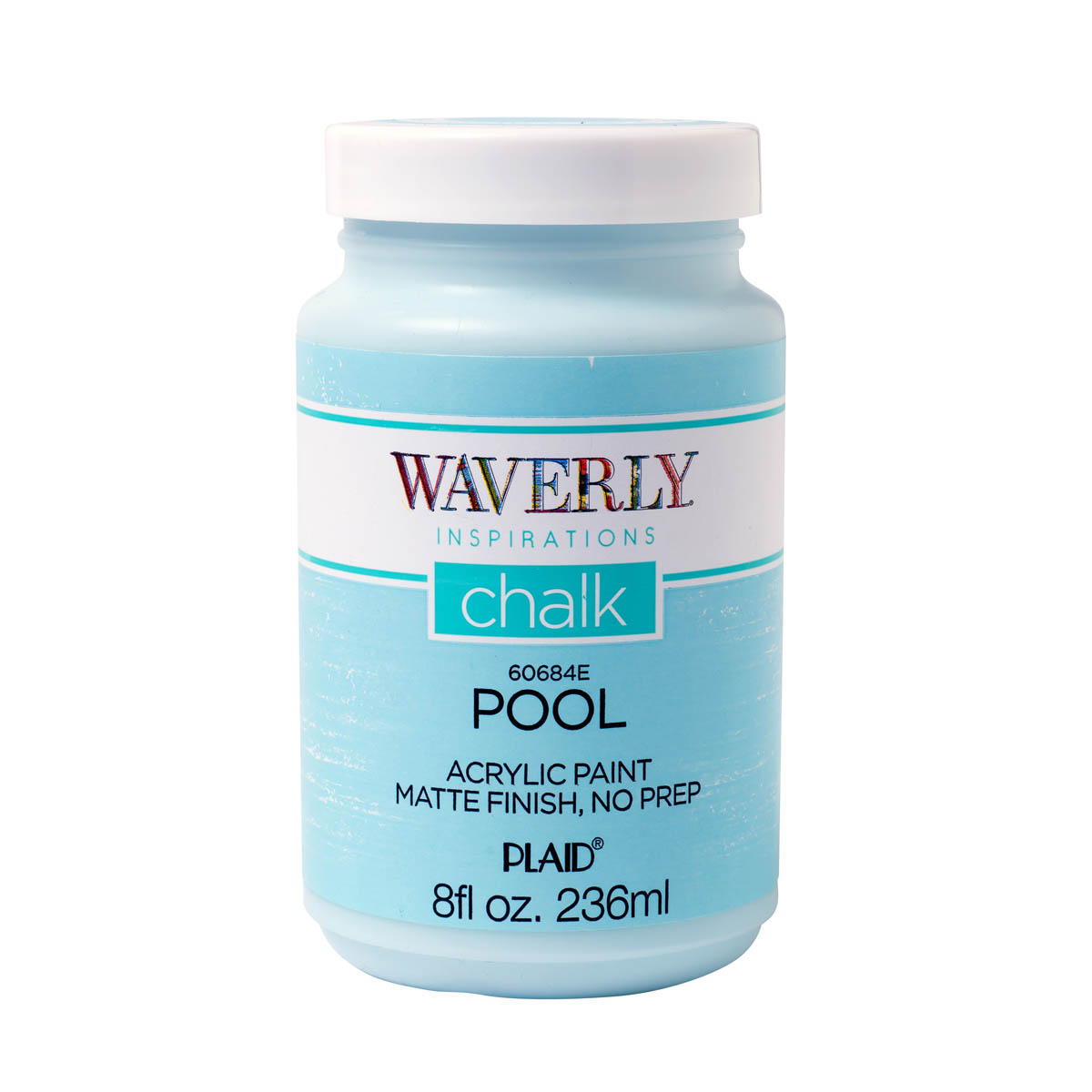 Waverly ® Inspirations Chalk Acrylic Paint - Pool, 8 oz. - 60684E