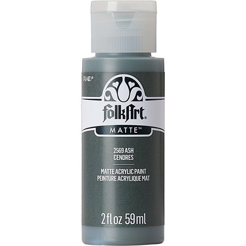 FolkArt ® Acrylic Colors - Ash , 2 oz.