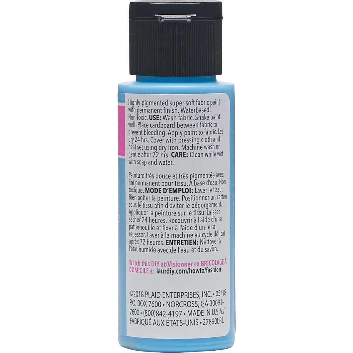 LaurDIY ® Perfect Fabric Paint - What It Dew, 2 oz. - 27890