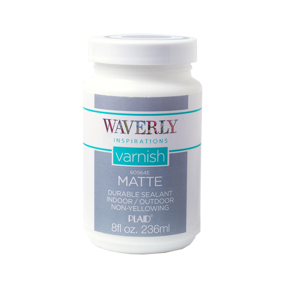 Waverly ® Inspirations Varnish - Matte, 8 oz. - 60564E