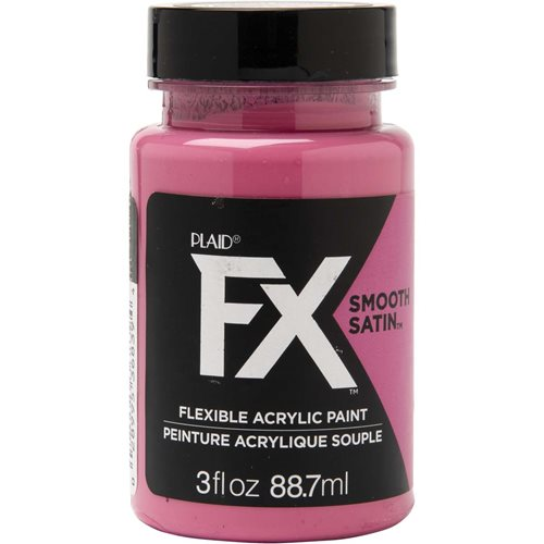 PlaidFX Smooth Satin Flexible Acrylic Paint - Enchanted, 3 oz.