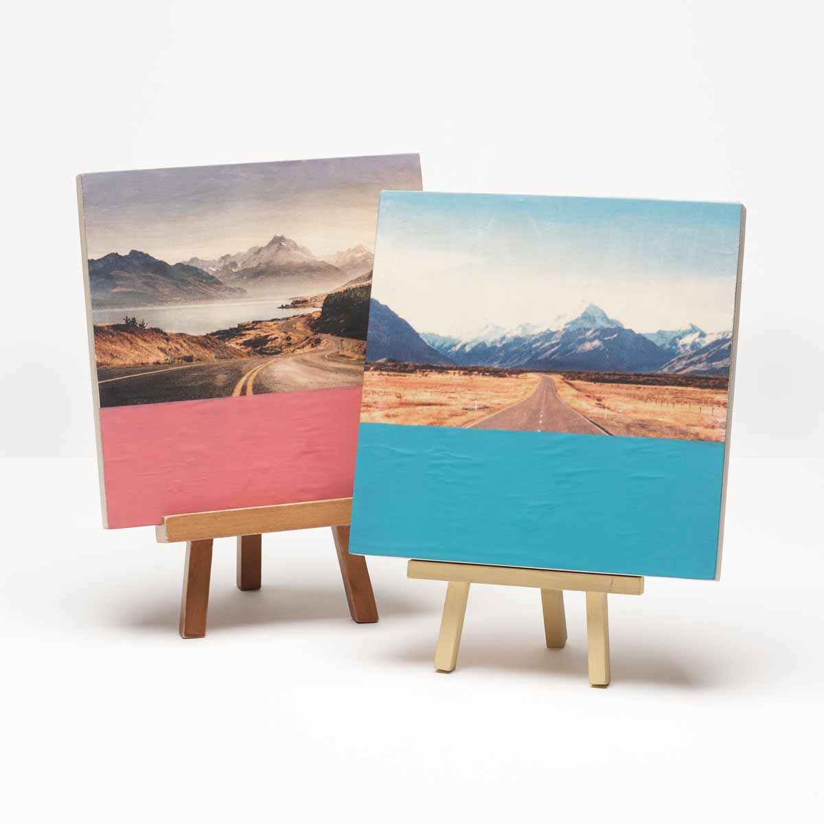 Photo Transfer Dipped Canvases