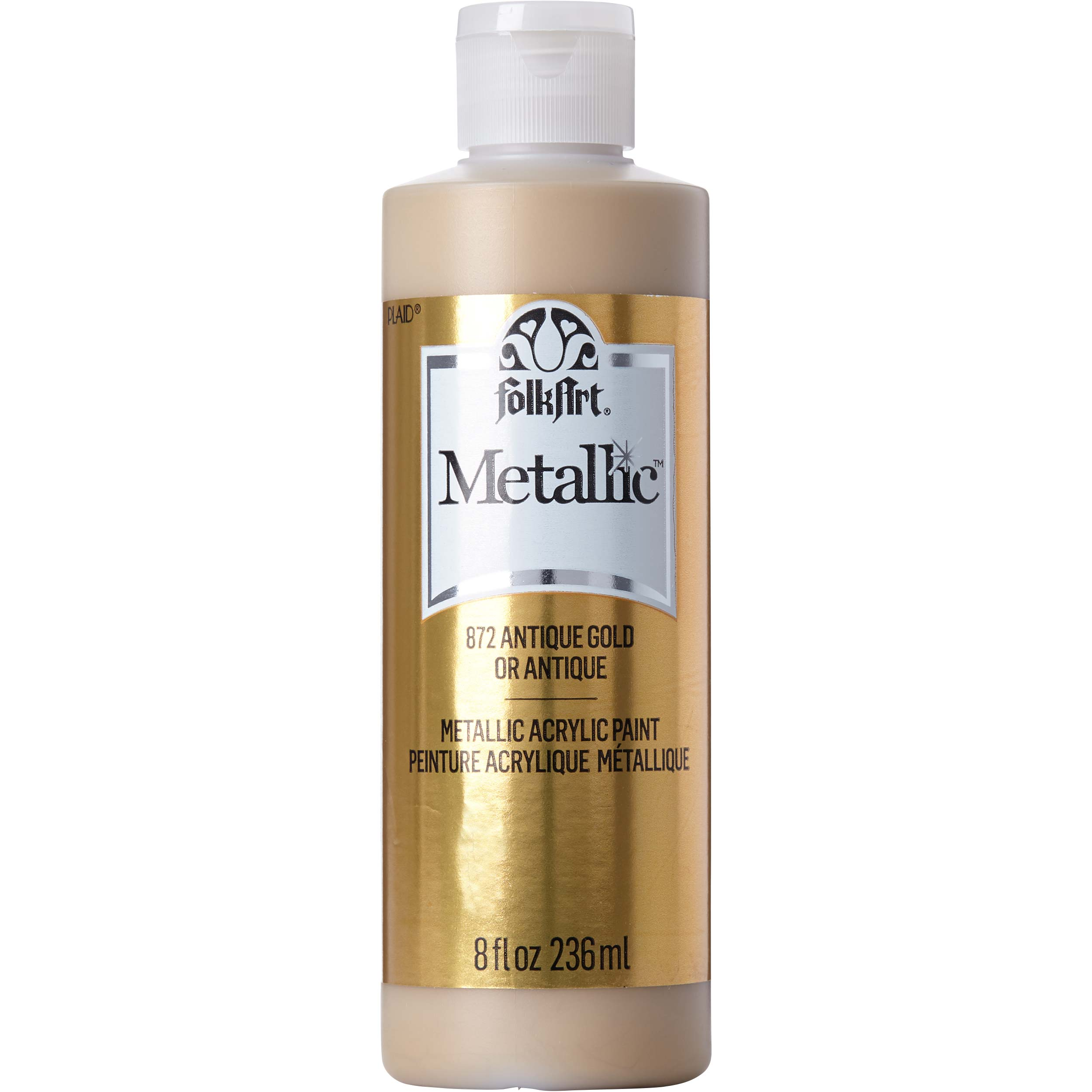 FolkArt ® Metallics - Antique Gold Metallic, 8 oz. - 872E