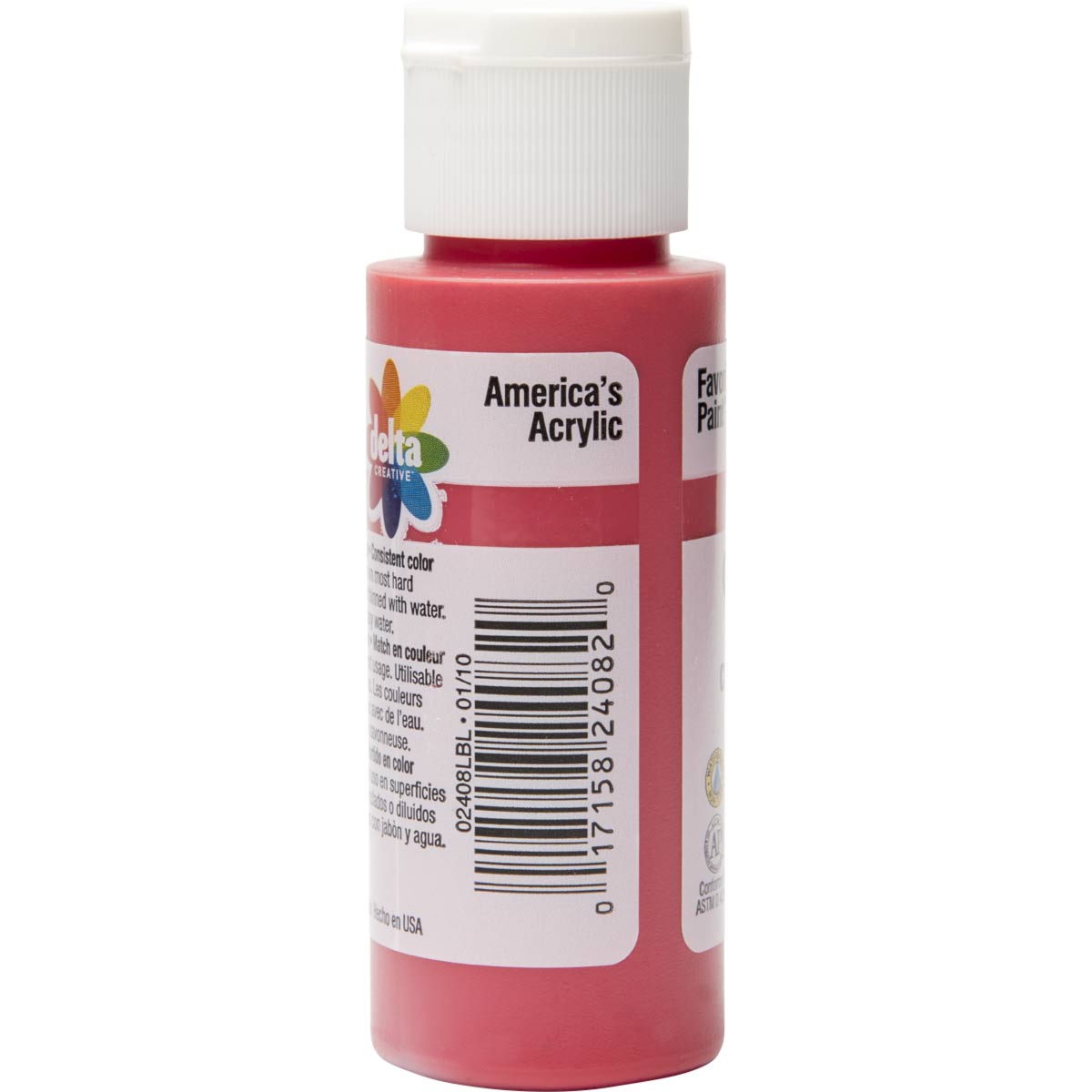 Delta Ceramcoat ® Acrylic Paint - Napthol Crimson, 2 oz.