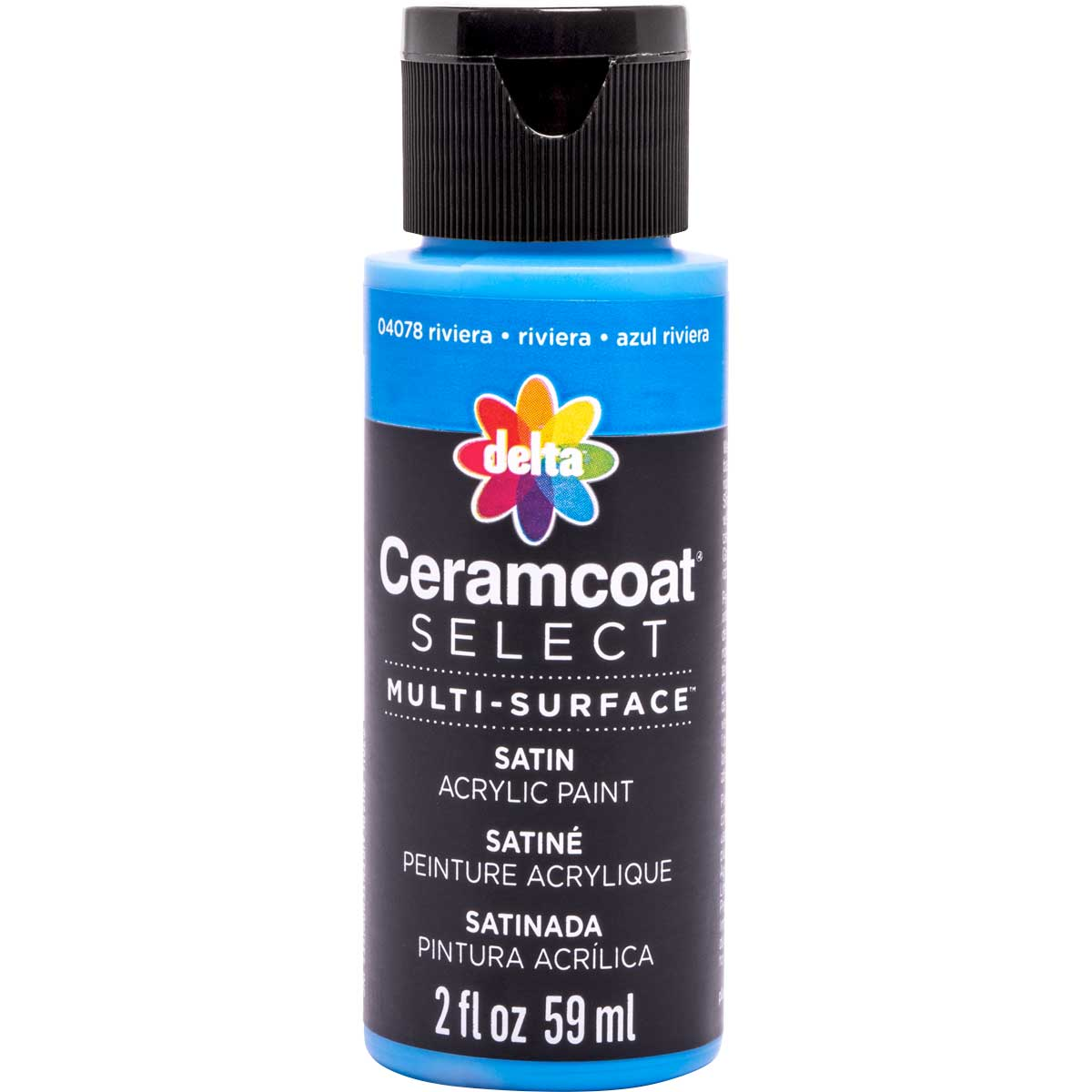 Delta Ceramcoat ® Select Multi-Surface Acrylic Paint - Satin - Riviera, 2 oz.