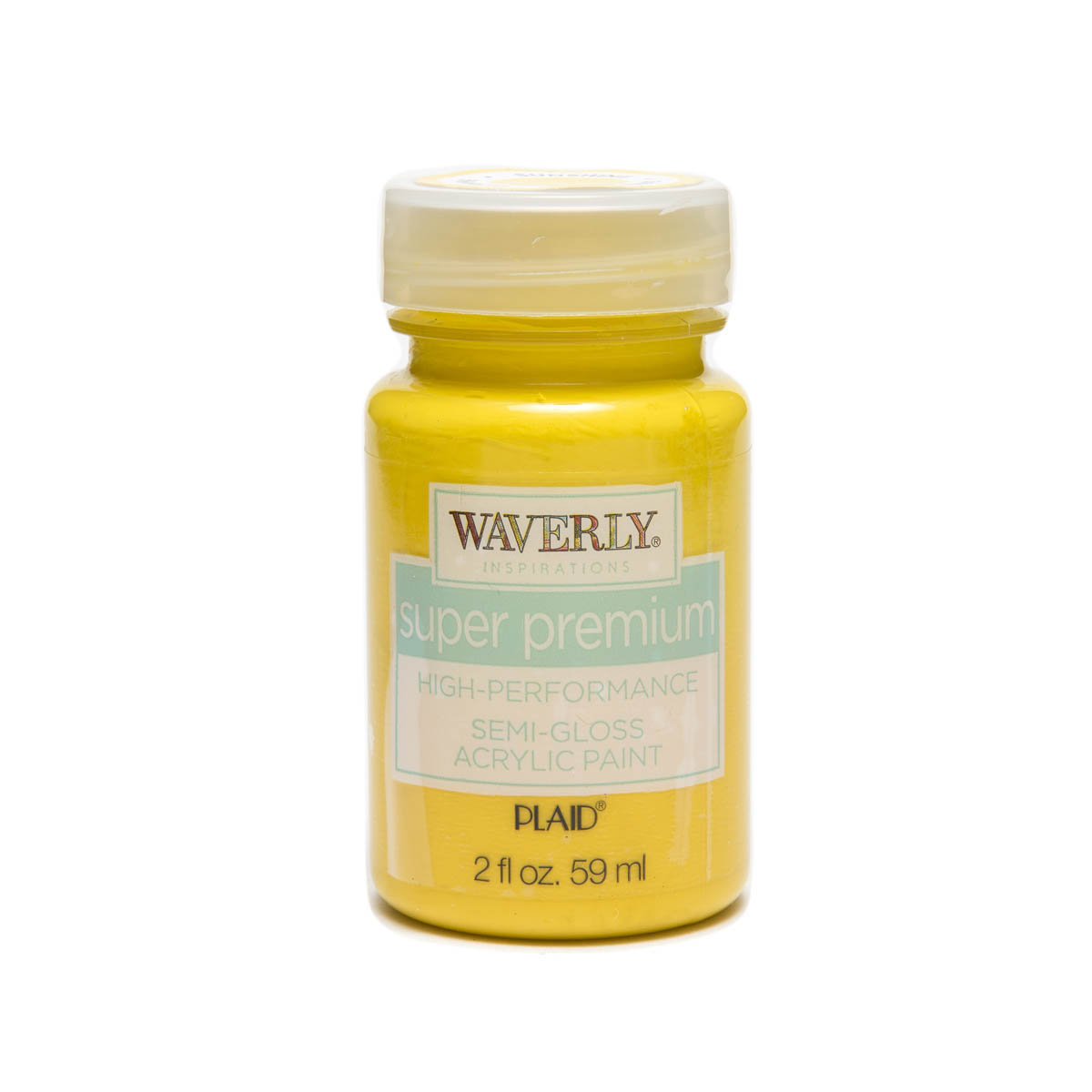 Waverly ® Inspirations Super Premium Semi-Gloss Acrylic Paint - Sunshine, 2 oz.