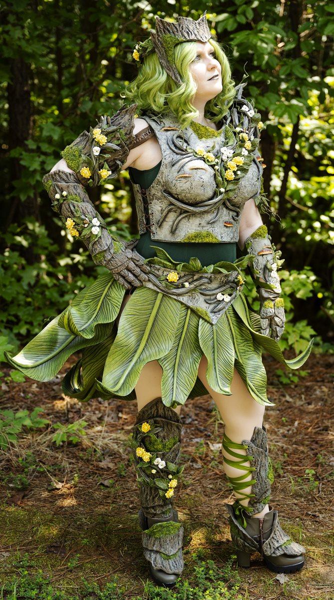 PlaidFX Wood Nymph Costume
