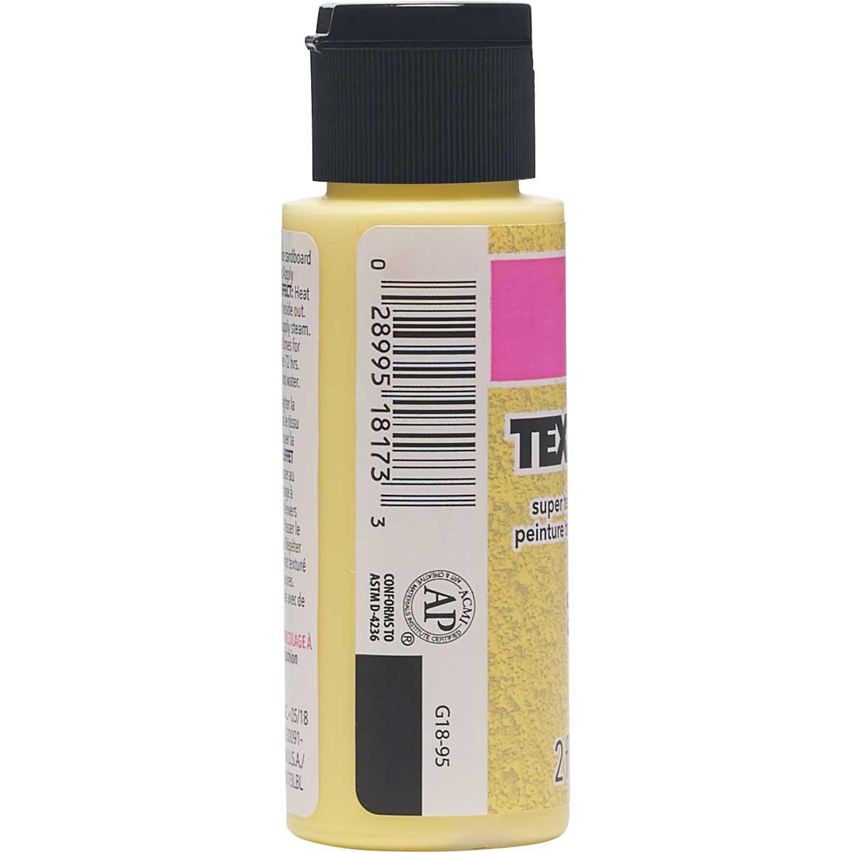 LaurDIY ® Texturific™ Fabric Paint - California,2 oz. - 18173