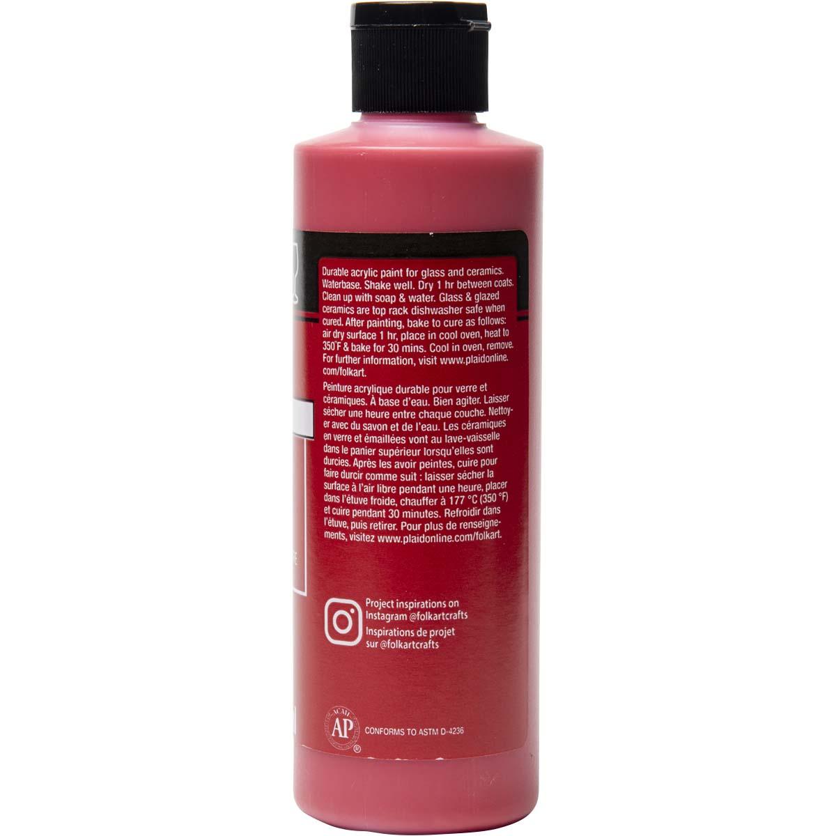 FolkArt ® Enamels™ - Lipstick Red, 8 oz.