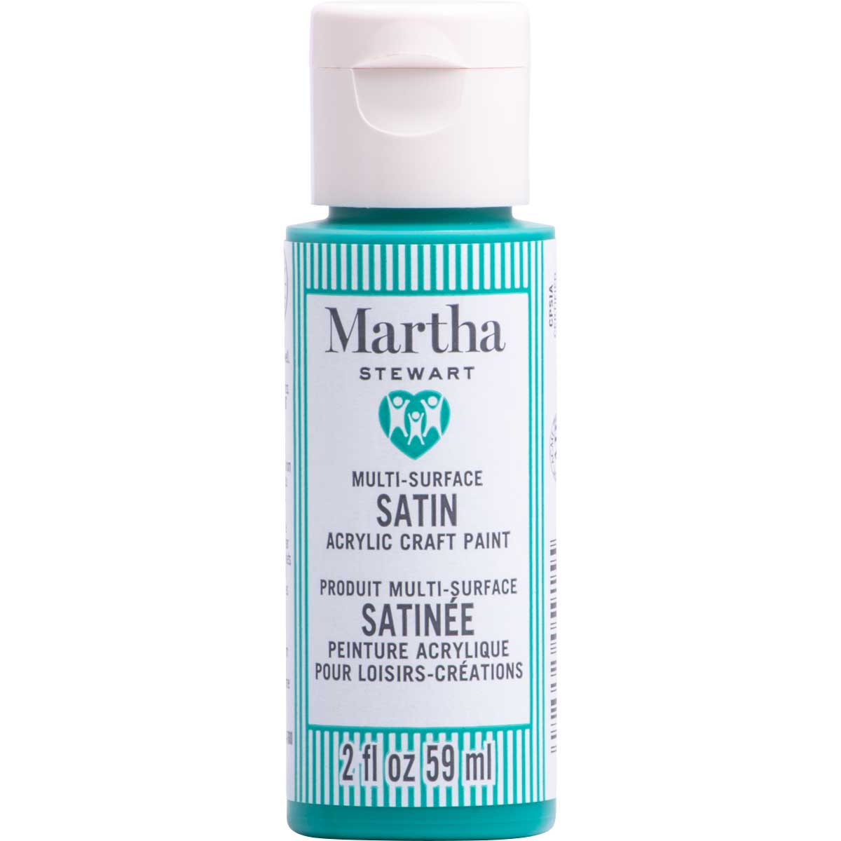 Martha Stewart ® Multi-Surface Satin Acrylic Craft Paint CPSIA - Jungle Green, 2 oz. - 5915