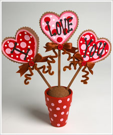 'I Love You' Flower Pot