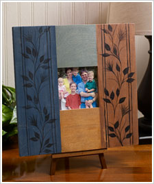 Square wood picture frame