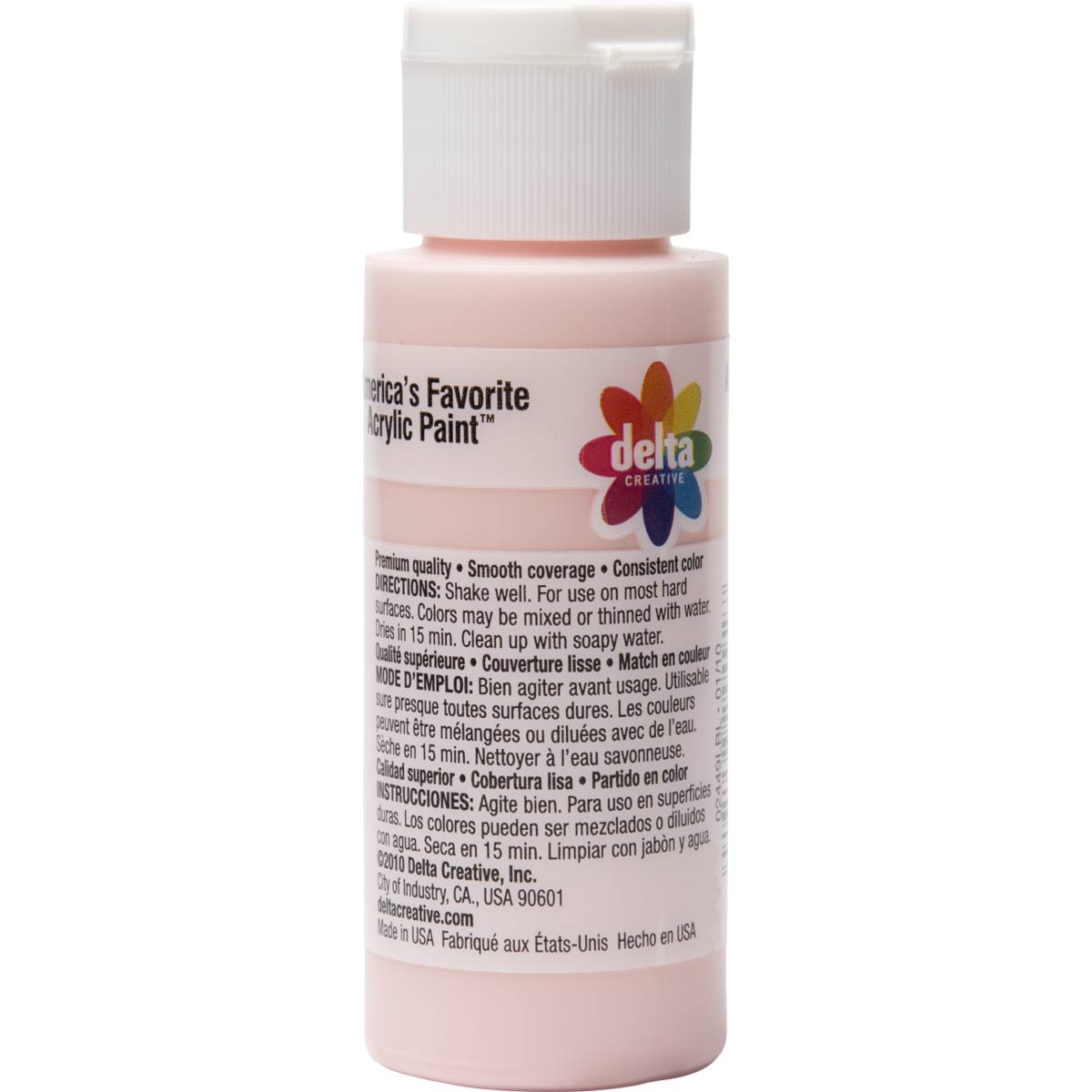Delta Ceramcoat Acrylic Paint - Hydrangea Pink, 2 oz. - 024490202W