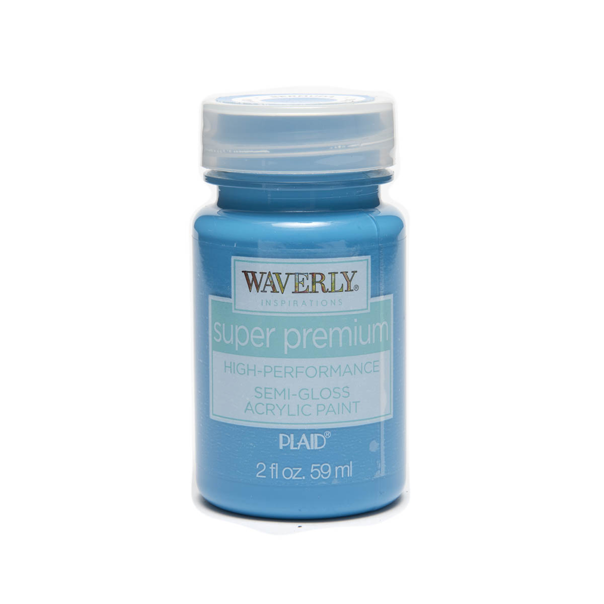 Waverly ® Inspirations Super Premium Semi-Gloss Acrylic Paint - Bermuda, 2 oz.