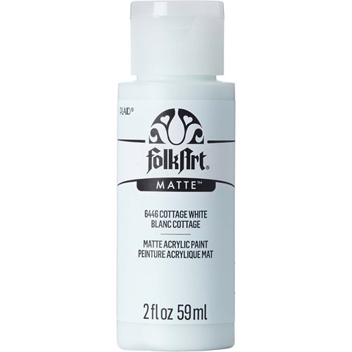 FolkArt ® Acrylic Colors - Cottage White, 2 oz.