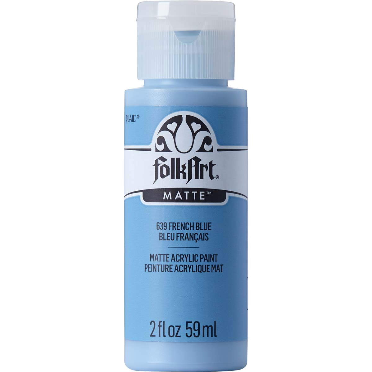 FolkArt ® Acrylic Colors - French Blue, 2 oz. - 639