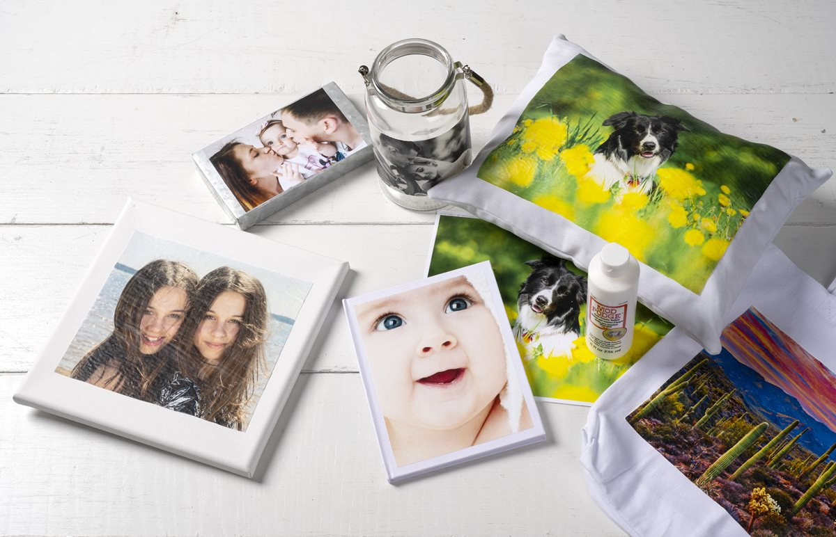 Mod Podge Photo Transfer Gift Ideas