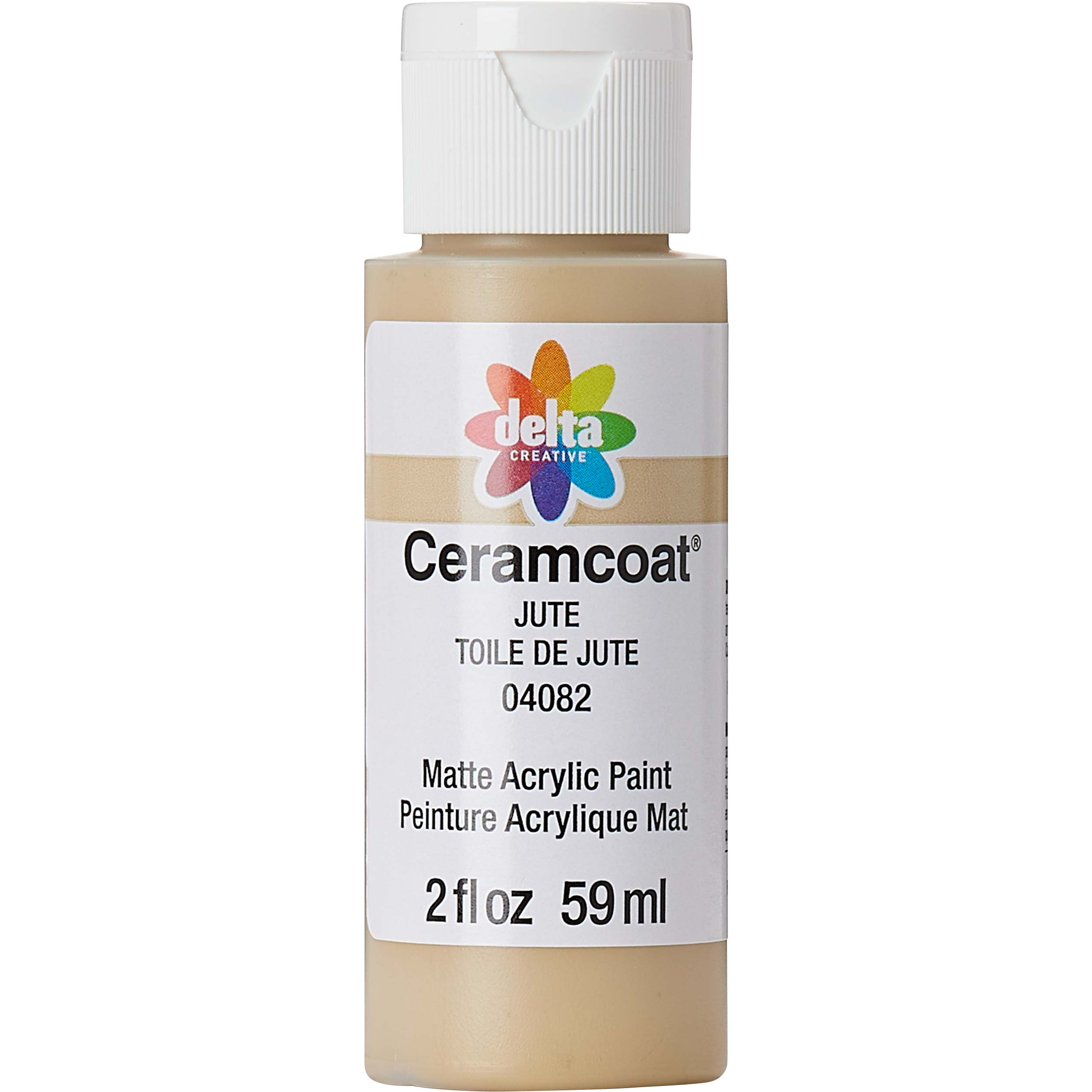 Delta Ceramcoat ® Acrylic Paint - Jute, 2 oz.