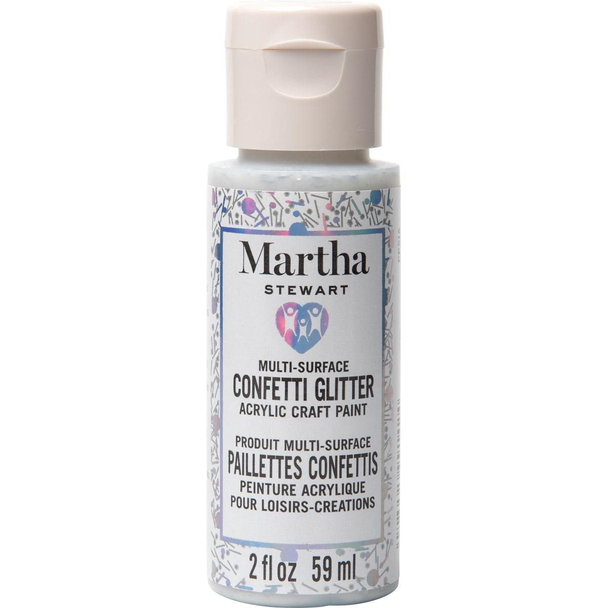 Martha Stewart® 2oz Multi-Surface Confetti Glitter Acrylic Craft Paint - Disco Ball
