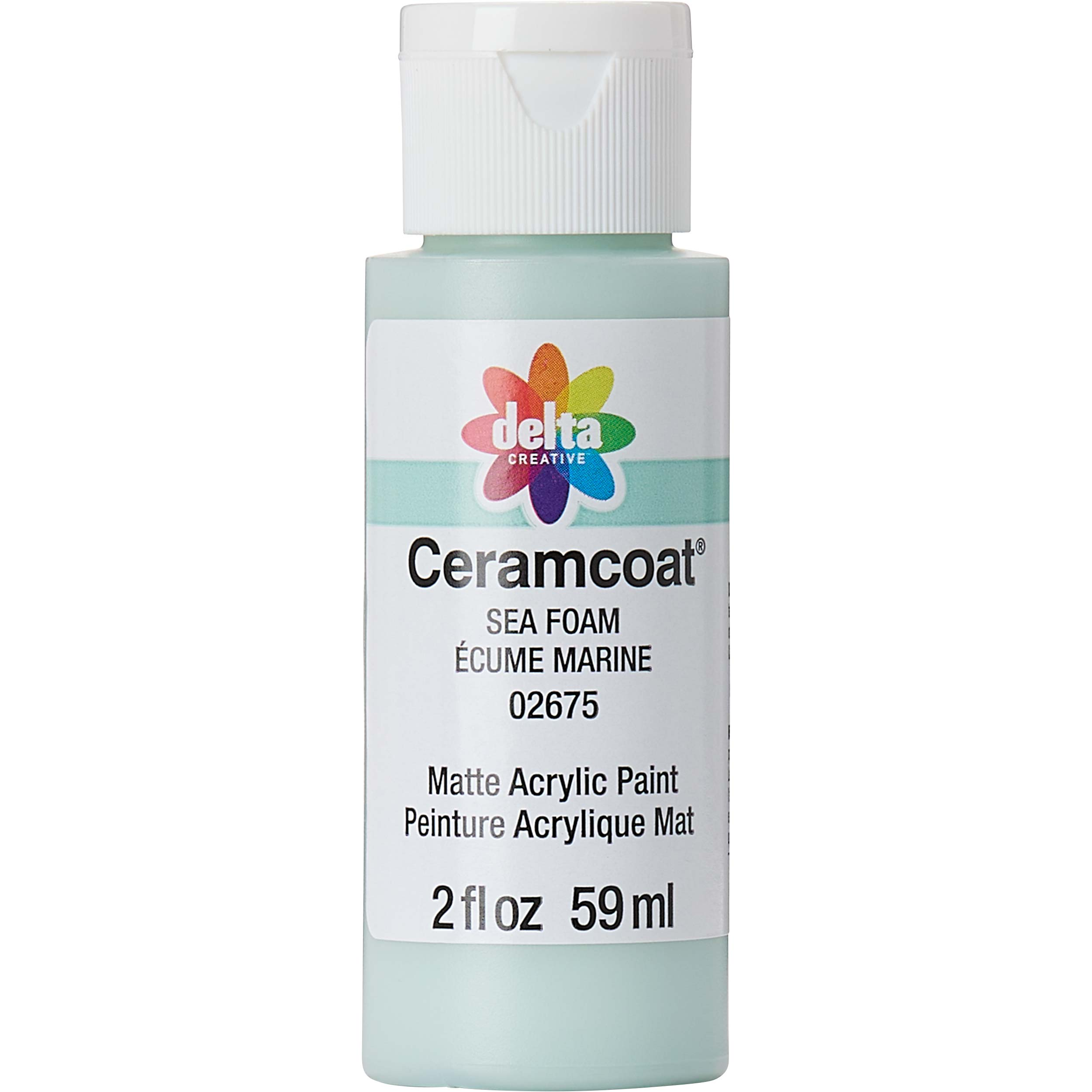 Delta Ceramcoat ® Acrylic Paint - Sea Foam, 2 oz. - 026750202W