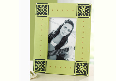 Square Medallion Photo Frame