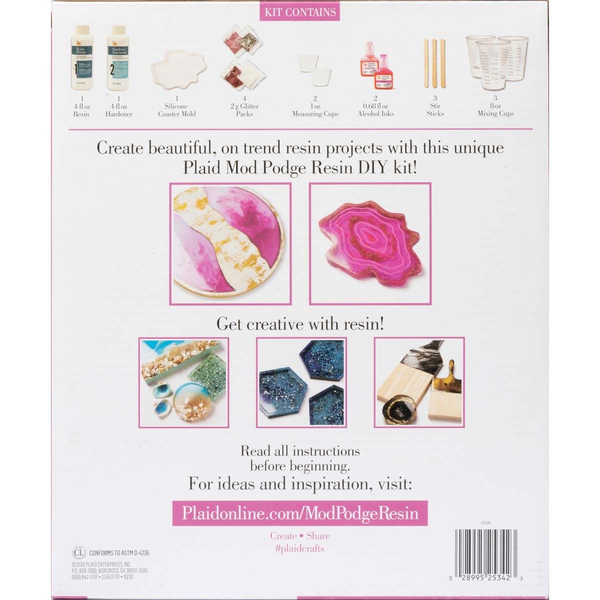Mod Podge ® Do-It-Yourself Resin Kit - Circle - 25342E