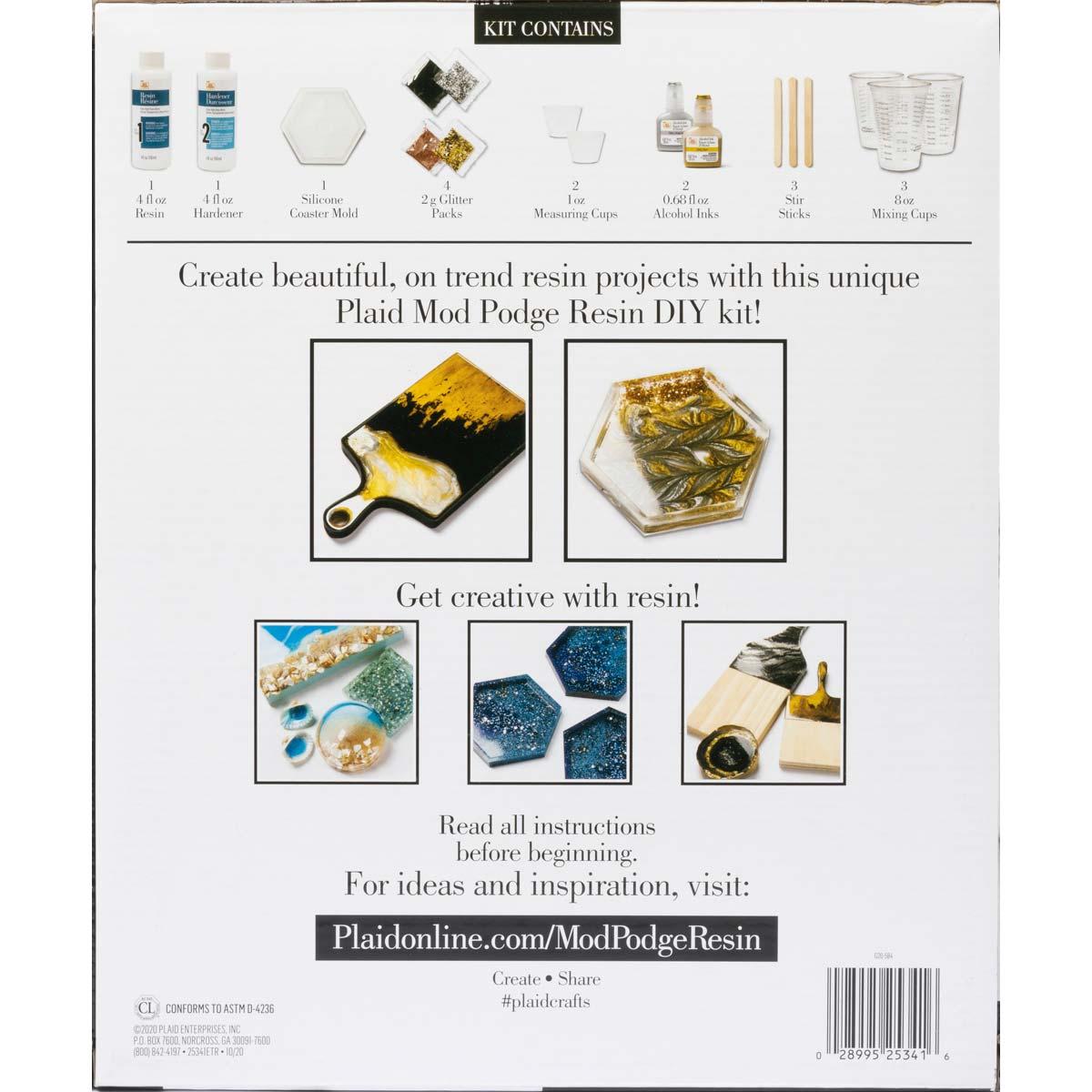 Mod Podge ® Do-It-Yourself Resin Kit - Cutting Board - 25341E