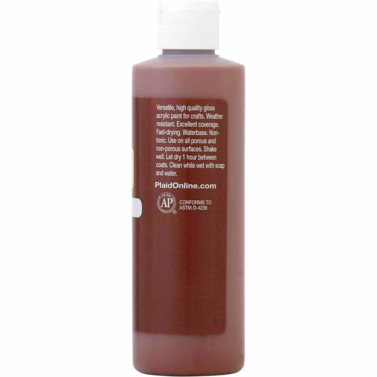 Apple Barrel ® Gloss™ - Real Brown, 8 oz. - 21058E