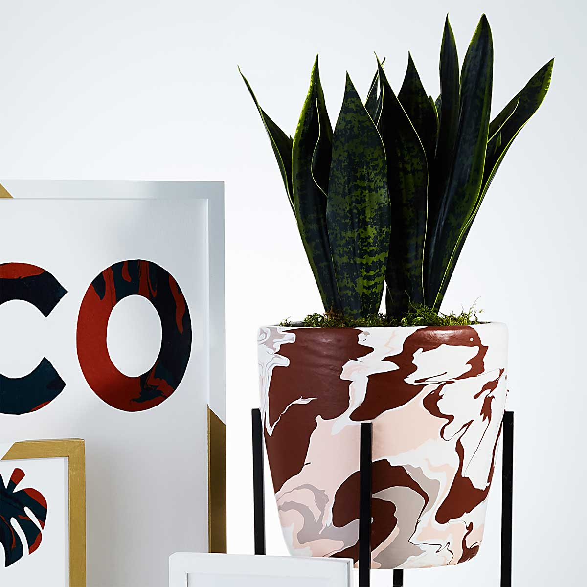 Poured Acrylic Art Paint Skin Vase DIY