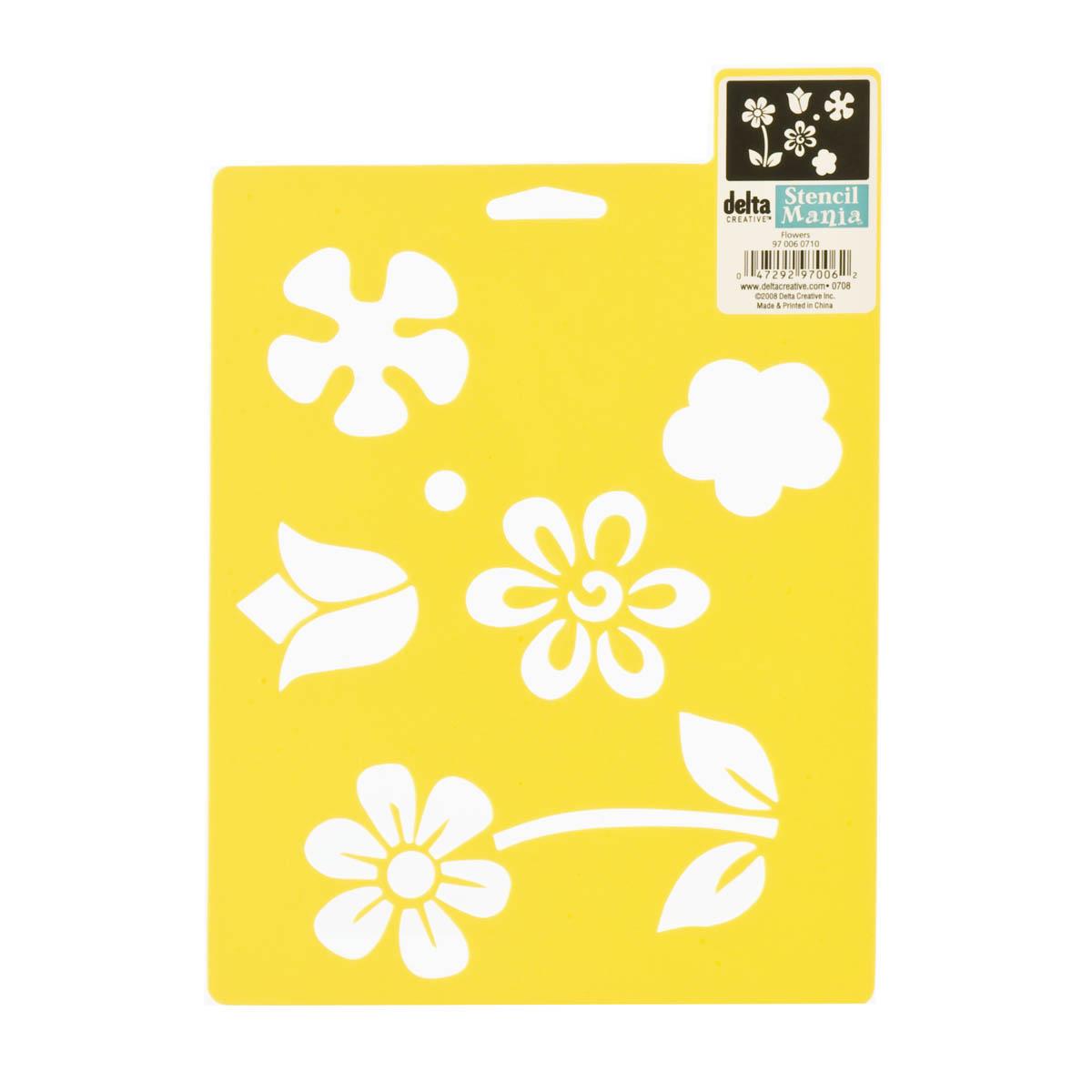 Delta Stencil Mania™ - Flowers - 970060710