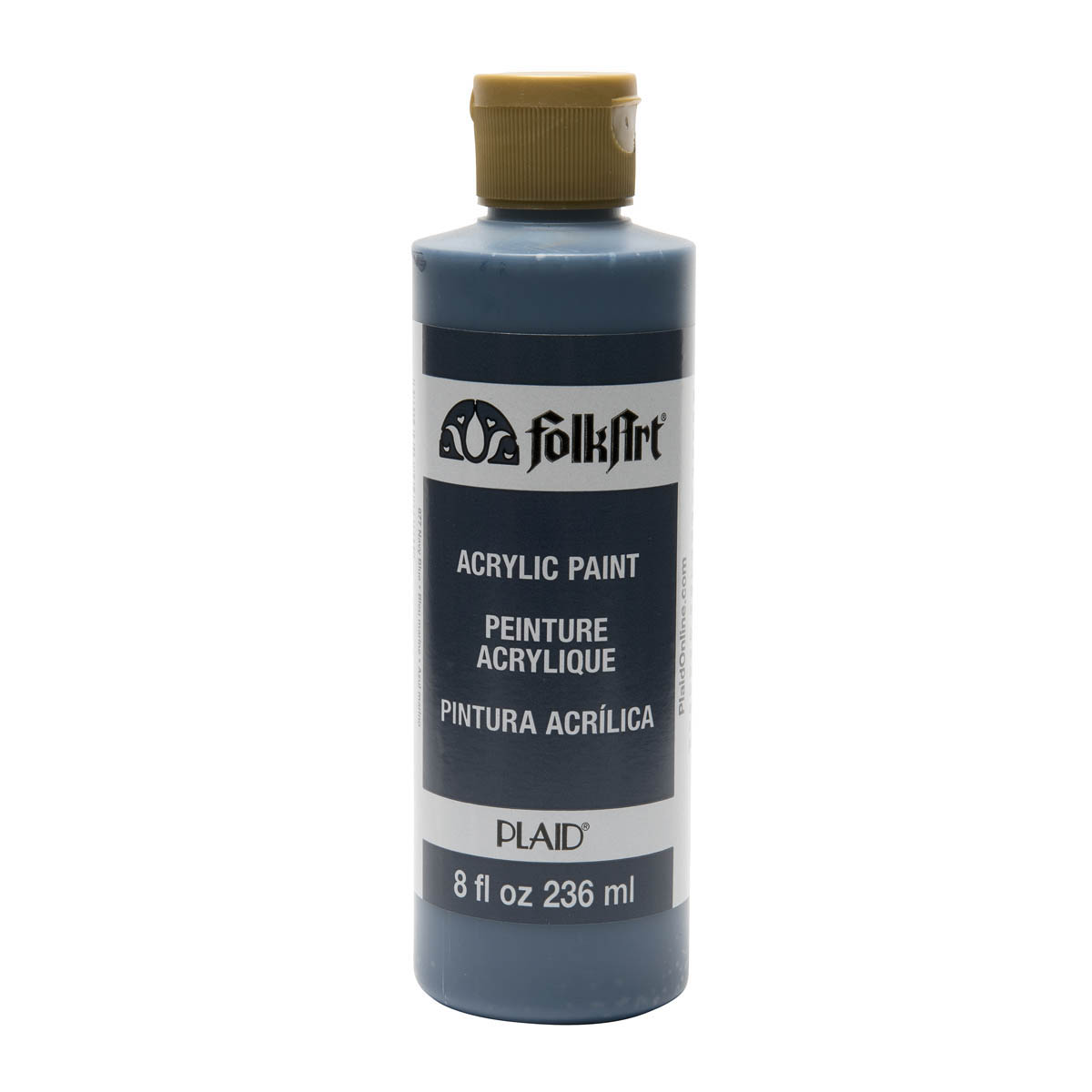 FolkArt ® Acrylic Colors - Navy Blue, 8 oz. - 877