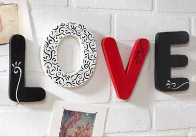Love Bubble Letters