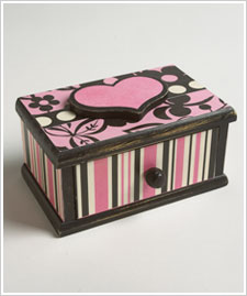 Valentine Jewelry Box