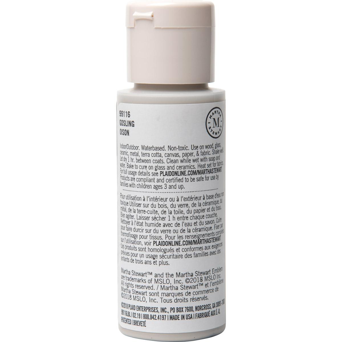 Martha Stewart® 2oz Multi-Surface Satin Acrylic Craft Paint - Gosling