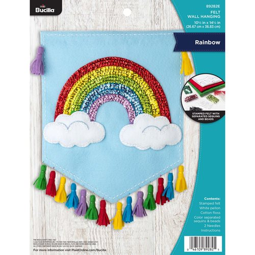 Bucilla ® Seasonal - Felt - Home Decor - Rainbow Wall Hanging - 89282E