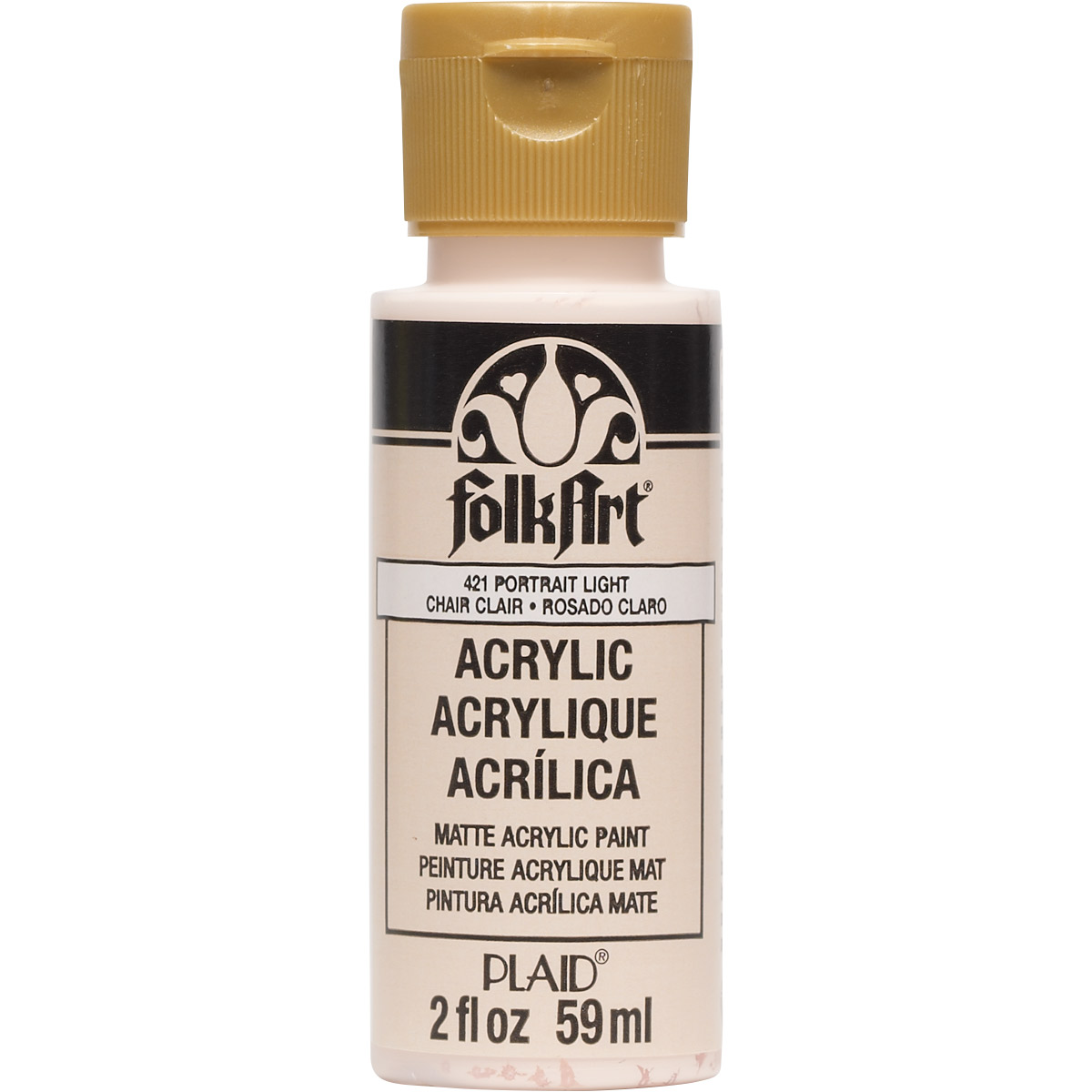FolkArt ® Acrylic Colors - Portrait Light, 2 oz. - 421