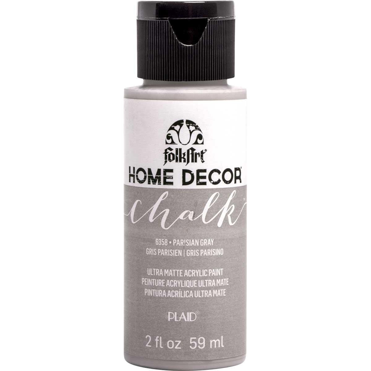 FolkArt ® Home Decor™ Chalk - Parisian Gray, 2 oz.