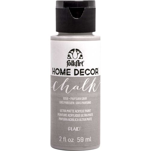 FolkArt ® Home Decor™ Chalk - Parisian Gray, 2 oz. - 6358