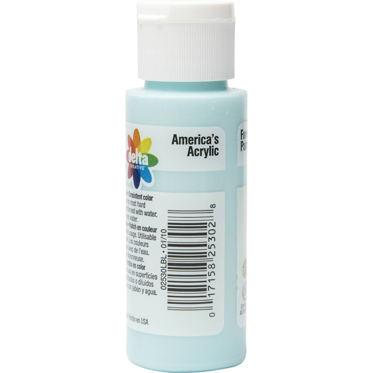 Delta Ceramcoat ® Acrylic Paint - Caribbean Blue, 2 oz.